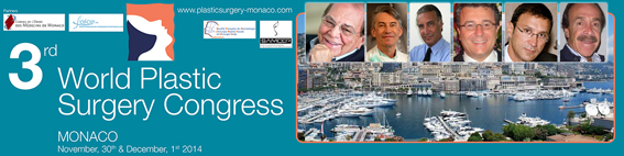 Plastic Surgery Congress Monaco November 30th and December 1rst 2014
