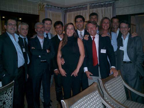 ACEIP учредителей и наблюдатели из Европы на официальном обеде в Риме, Италия.
