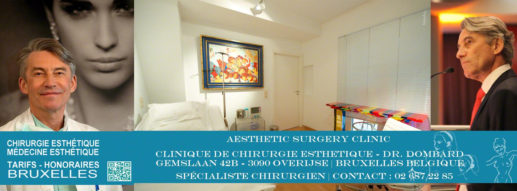 Tarifs Honoraires chirurgie esthétique Bruxelles Belgique