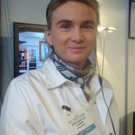 Claudia infirmière spécialisé bloc opératoire Clinique DR Dombard Overijse Bruxelles
